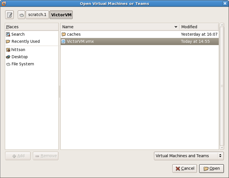 How to run Victor in a virtual machine. Download the VictorVM.zip from ...